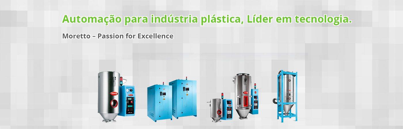 Automação para indústria plástica