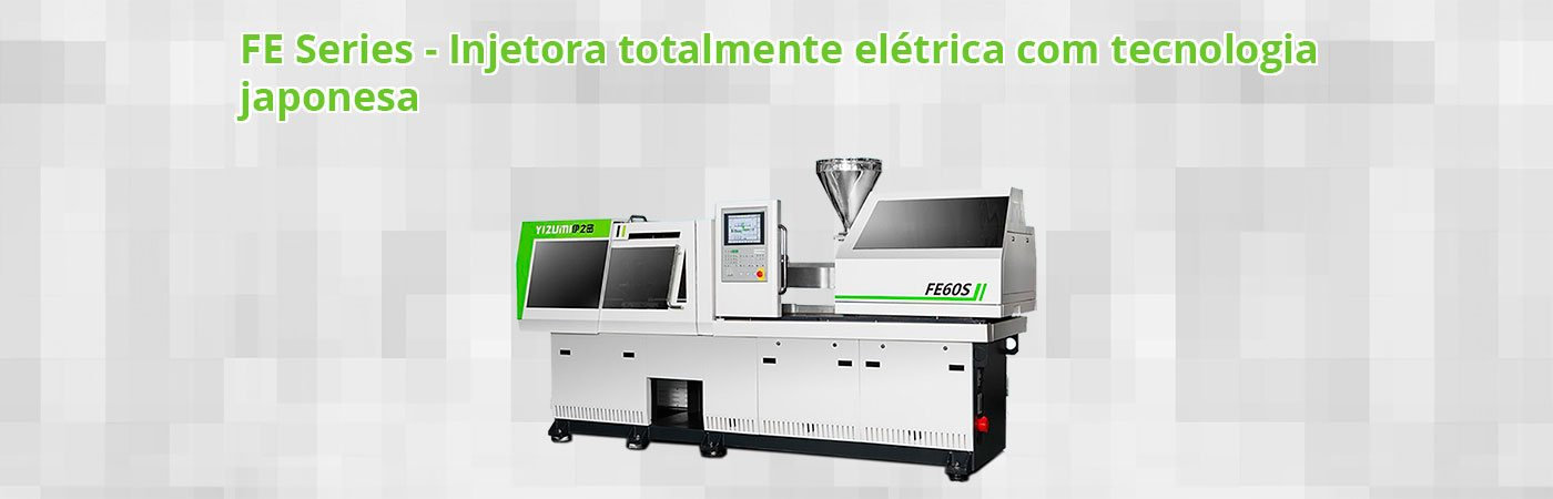 Injetora elétrica - Tecnologia Japonesa