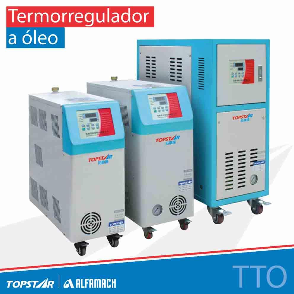 Termorregulador a óleo - Série TTO