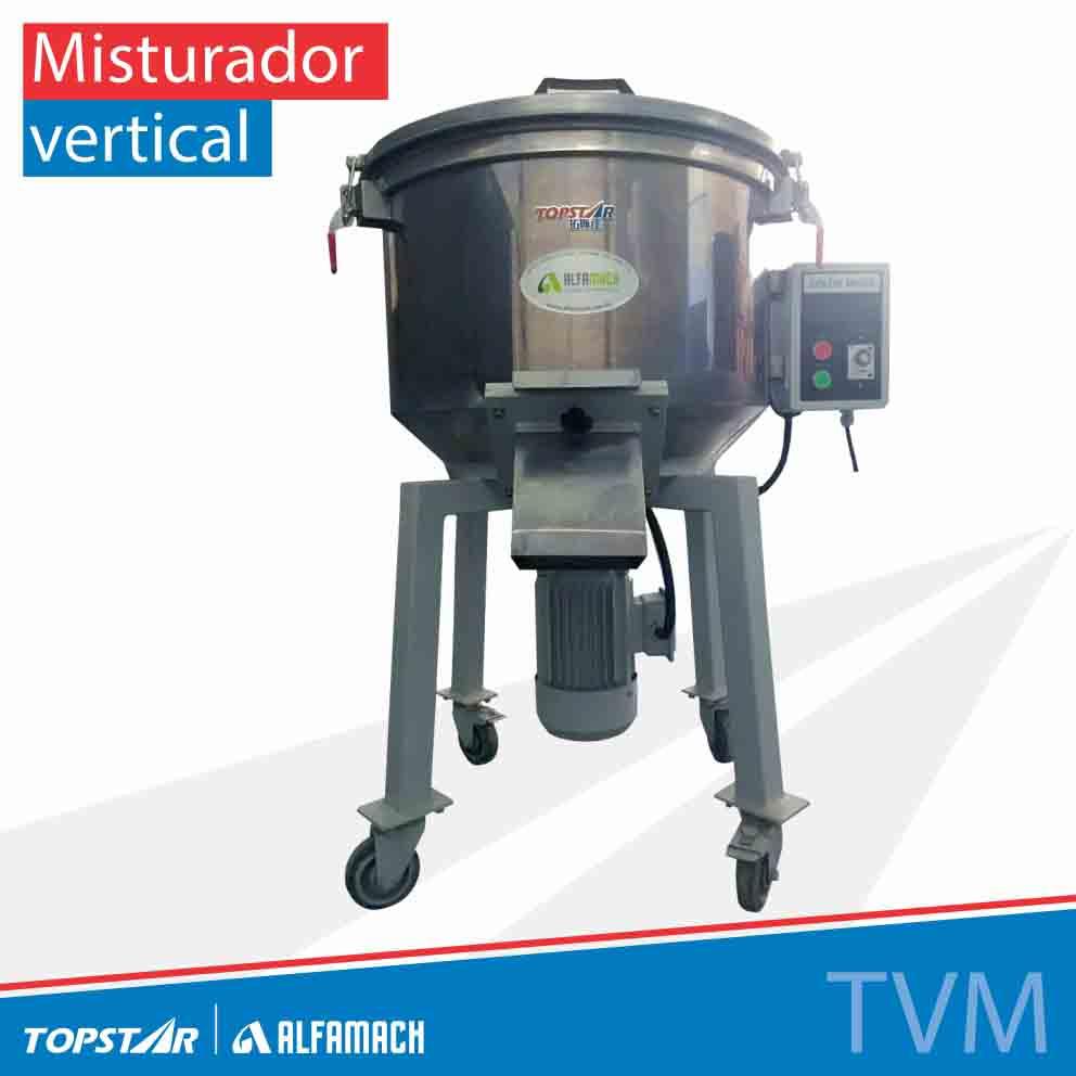 Misturador vertical de matéria prima - Série TVM